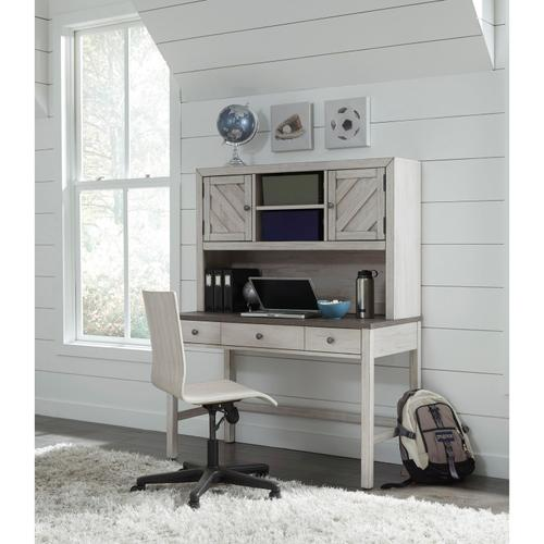 Riverwood Adjustable Desk Chair in White