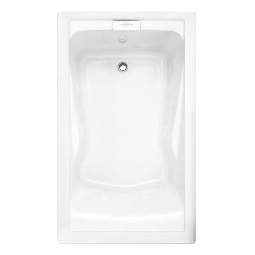 Evolution 60x36 inch Deep Soak Bathtub - Arctic White