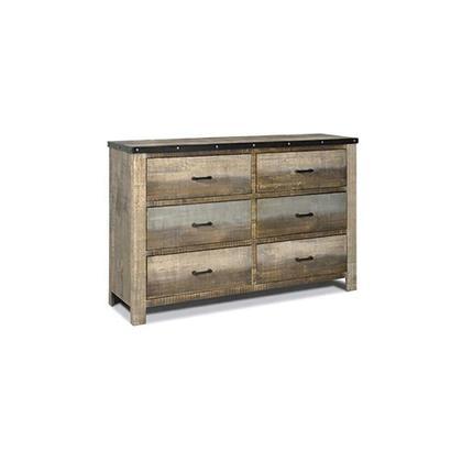 Sembene Antique, Multi-colored Dresser