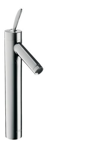 Chrome Single lever basin mixer 220 for wash bowls with waste set Product Image