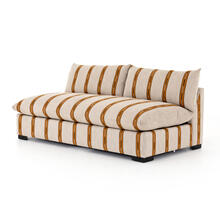 Armless Piece Configuration Zella Amber Cover Build Your Own: Grant Sectional