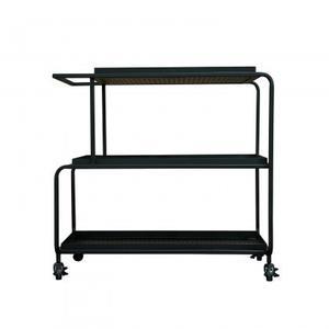 Camden Bar Cart/Iron/Matte Black/39*18*32