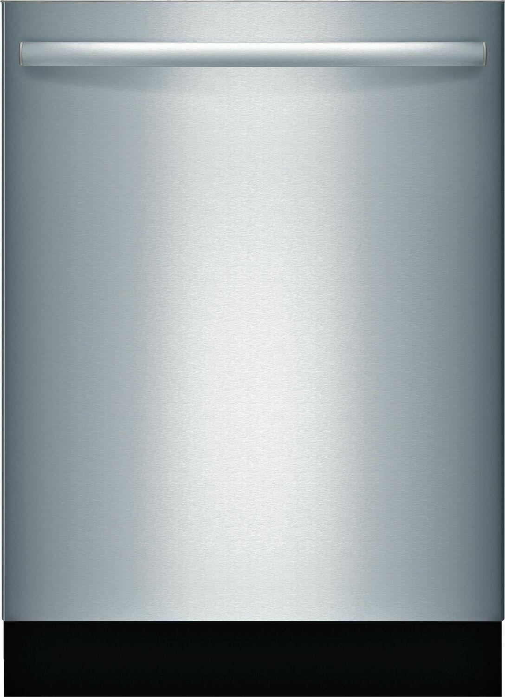 """BoschAda 24"""" 800 Series Bar Hndl, 6/5 Cycles, 3rd Rck, 44 Dba, Rckmatic,15 Pl Stgs, Infolight - Ss"""