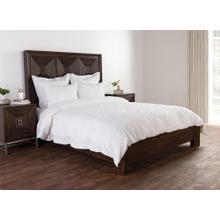 Reagan White 5Pc Queen Duvet Set
