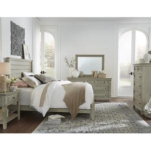 Dresser \u0026 Mirror - Linen Finish