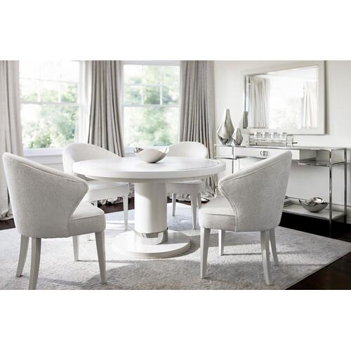 Silhouette Dining Table in Eggshell (307)