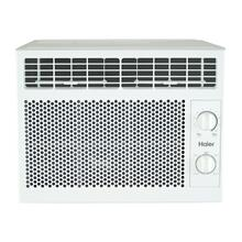 See Details - Haier® 5,050 BTU Mechanical Window Air Conditioner for Small Rooms up to 150 sq. ft.