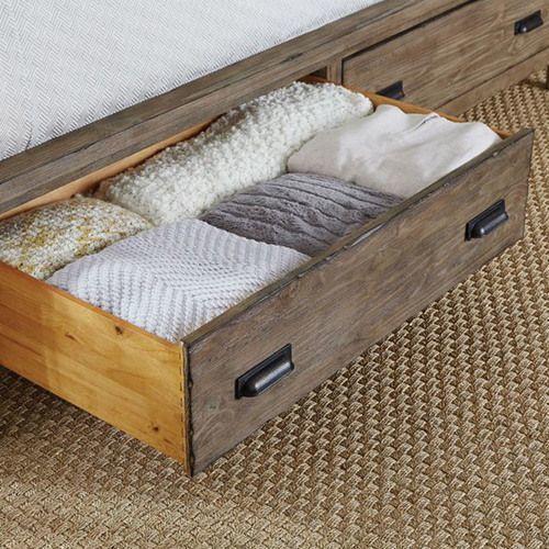 La-Z-Boy - Foundry King Panel Bed with Storage Footboard
