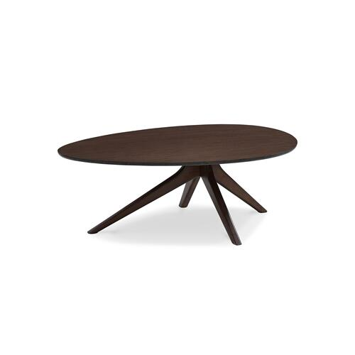 Rosemary Coffee Table, Black Walnut