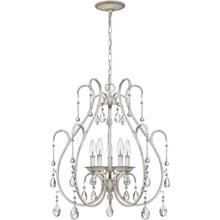 View Product - Blanca Mini Chandelier in Antique White