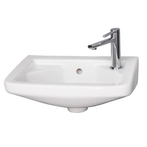 """15"""" Mirna Wall-Hung Basin - Single-Hole Right"""