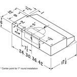 30-Inch Convertible Under-Cabinet Range Hood, 160 CFM, Black Photo #4