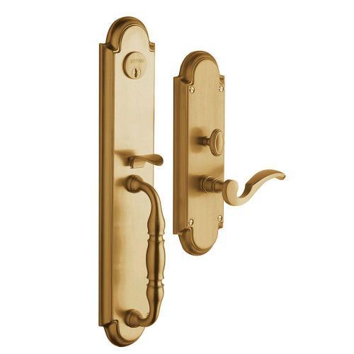 Vintage Brass Hamilton Entrance Set