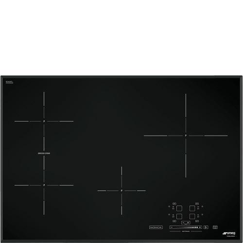 Smeg - Cooktop Black SIMU530B