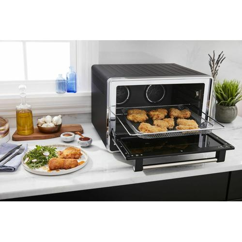 Gallery - Dual Convection Countertop Oven with Air Fry and Temperature Probe - Black Matte