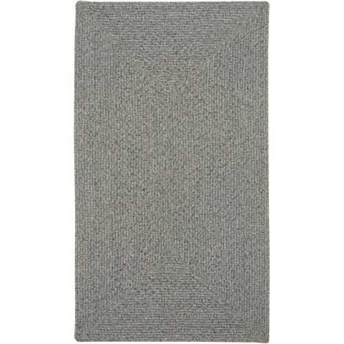 Heathered Grey Braided Rugs (Custom)