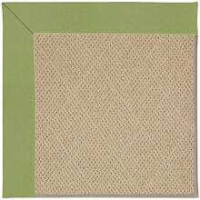 "Creative Concepts-Cane Wicker Canvas Citron - Rectangle - 24"" x 36"""