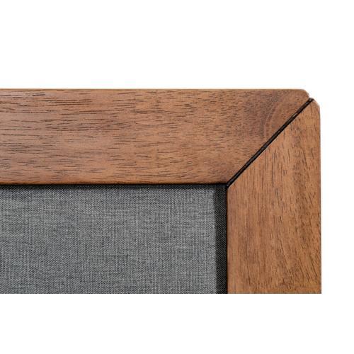 VIG Furniture - Nova Domus Soria Modern Grey & Walnut Bed