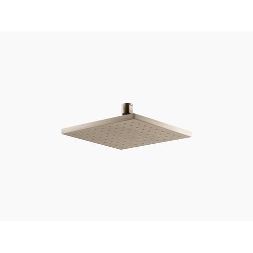 """Vibrant Brushed Bronze 8"""" 1.75 Gpm Rainhead With Katalyst Air-induction Technology"""
