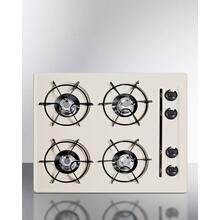 "24"" Wide 4-burner Gas Cooktop"
