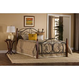 Milwaukee Wood Post King Bed