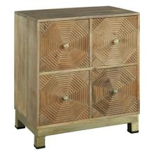See Details - 2-7928 Drawer Chest with Carved Octagon Pattern