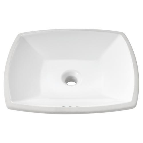 American Standard - Edgemere Undercounter Bathroom Sink  American Standard - White