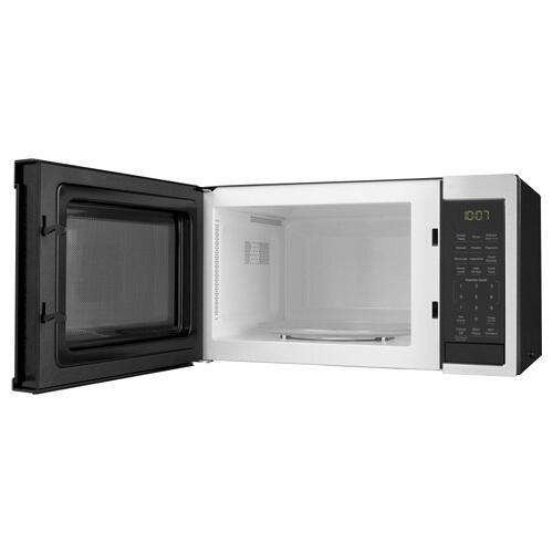 Gallery - GE® 0.9 Cu. Ft. Capacity Smart Countertop Microwave Oven with Scan-To-Cook Technology