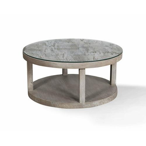 CROSSINGS SERENGETI Round Cocktail Table