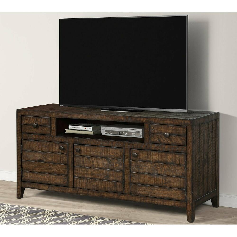 See Details - TEMPE - TOBACCO 63 in. TV Console