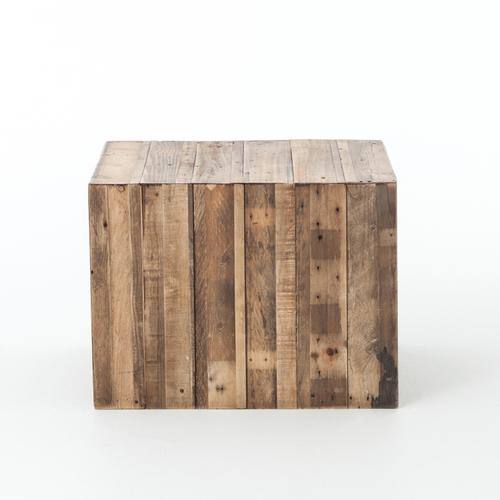 Beckwourth Side Table-rustic Natural