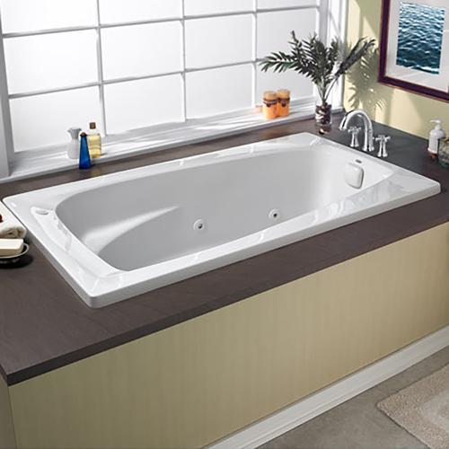 American Standard - 60x32 inch EverClean Whirlpool - White