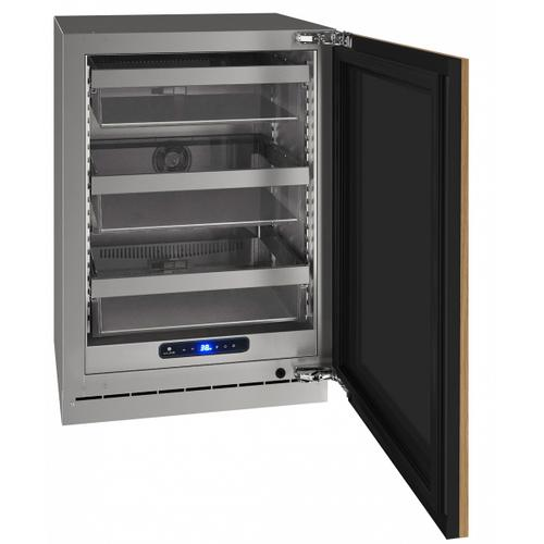 "Hre524 24"" Refrigerator With Integrated Solid Finish (115 V/60 Hz Volts /60 Hz Hz)"
