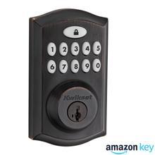 SmartCode 914 Contemporary Deadbolt Amazon Key Edition - Venetian Bronze