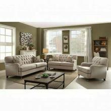 ACME Alianza Sofa w/2 Pillows - 52580 - Beige Fabric