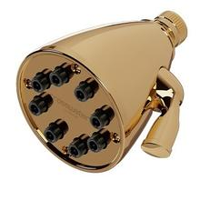 Elements Shower Head - Unlacquered Brass