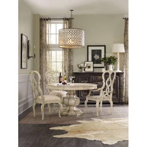 Dining Room Auberose 52in Pedestal Dining Top