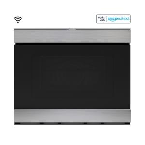 Sharp Appliances24 in. Built-In Smart Convection Microwave Drawer Oven