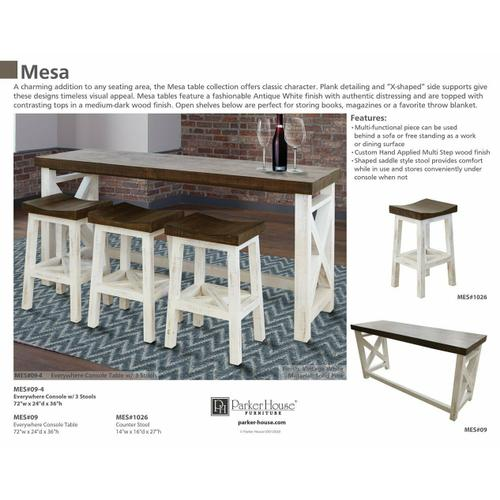 MESA Everywhere Console Table