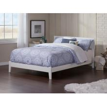 Orlando Queen Bed in White