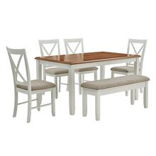 Jane Brown 6 Piece Dining Set