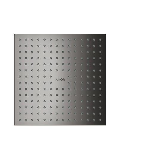 Polished Black Chrome Overhead shower 250/250 1jet ceiling