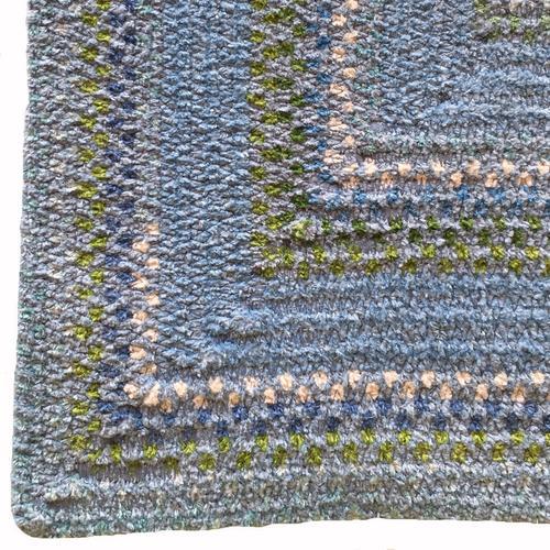 Bailey Delphinium Blue Braided Rugs