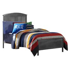 See Details - Panel Storage Bed Set with Footboard Bench