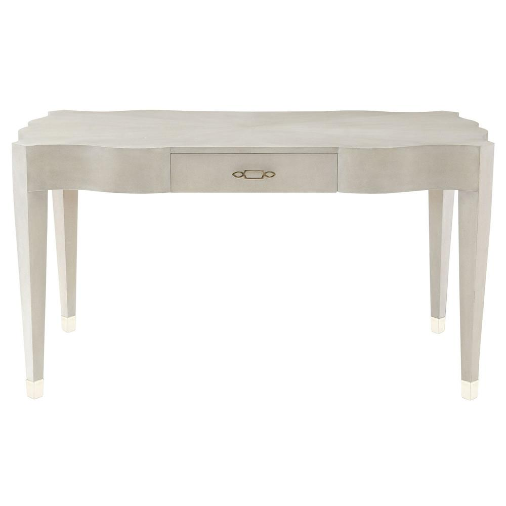 Criteria Leather Desk in Heather Gray (363)