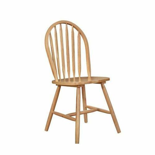 ACME Farmhouse Side Chair (Set-4) - 02482N - Natural