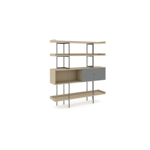 BDI Furniture - Margo 5201 Shelf in Drift Oak Fog Grey
