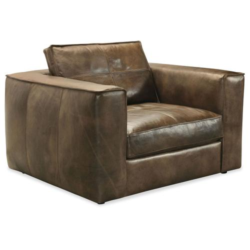 Living Room Solace Leather Chair