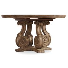 View Product - Solana 54in Pedestal Dining Table w/1-20in Leaf