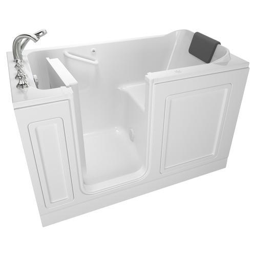 American Standard - Acrylic Luxury Series 32x60 Air Bath Walk-in Tub with Tub Filler, Left Drain  American Standard - White
